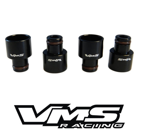 Fuel Injector TOP HAT Adapters for Acura RDX Injectors to B16 B18 FUEL RAILS AVAILABLE IN 4 COLORS // PART # ITH001
