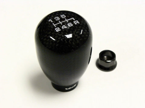TYPE R REAL CARBON FIBER 6 SPEED SHIFT KNOB HONDA ACURA