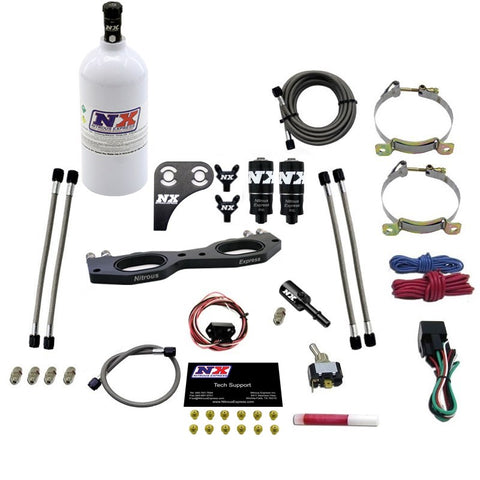 Nitrous plate system for the RZR 1000cc.