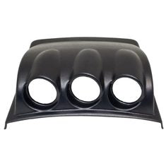 Black Triple Gauge Dashboard Pod for 1998-2005 Volkswagen Beetle
