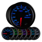 Black 7 Color 100 PSI Boost Gauge
