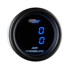 Black 7 Dual Digital Air Pressure Gauge