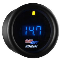 Black 7 Series Digital Wideband Air/Fuel Ratio Gauge