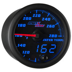 Black & Blue MaxTow Water Temperature Gauge