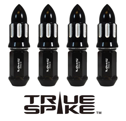 14x2.0 101MM LONG MACHINED BULLET FORGED STEEL LUG NUTS WITH ANODIZED ALUMINUM CAP 04-14 FORD F150 RAPTOR TREMOR EXPEDITION // CAP: 25MM DIAMETER 51MM HEIGHT PART # LGC056