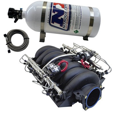 FACTORY LS3 INTAKE W/ NX PIRANHA DIRECT PORT