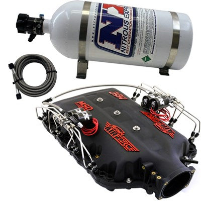 MSD Airforce Intake Manifold w/NX Direct Port Nitrous System, for 2014-up LT1