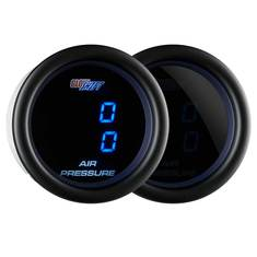 Tinted 7 Dual Digital Air Pressure Gauge