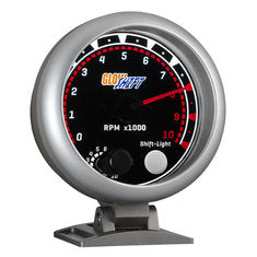 "Tinted 3-3/4"" Tachometer w/ Shift Light"