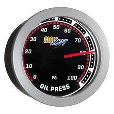 Tinted Oil Pressure Gauge
