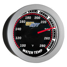 Tinted Water Temperature Gauge