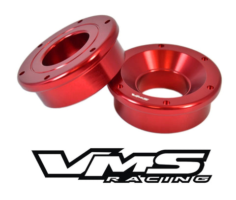 SOLID FRONT SHIFTER BUSHINGS BILLET ALUMINUM 2 PIECE 94-01 ACURA INTEGRA 99-00 HONDA CIVIC SI // PART # SBB003