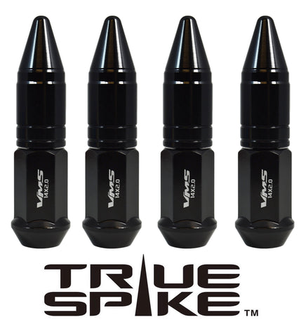 14X1.5 MM 101MM LONG APOLLO SPIKE FORGED STEEL LUG NUTS WITH ANODIZED ALUMINUM CAP 00- UP CHEVROLET SILVERADO TAHOE GMC SIERRA 12-UP DODGE RAM 15-UP F150 // CAP: 20MM DIAMETER 51MM HEIGHT PART # LGC049