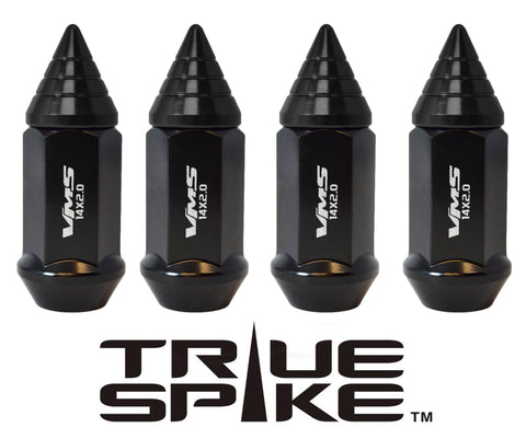 9/16-18 62MM LONG CNC MACHINED FORGED STEEL EXTENDED SMALL SPIRAL SPIKE LUG NUTS ANODIZED ALUMINUM CAP 65-87 CHEVROLET (8 LUG) C20 C30 K20 K30 GMC 02-11 DODGE RAM 80-98 FORD F250 F350 // 20MM DIAMETER 21MM HEIGHT PART # LGC011