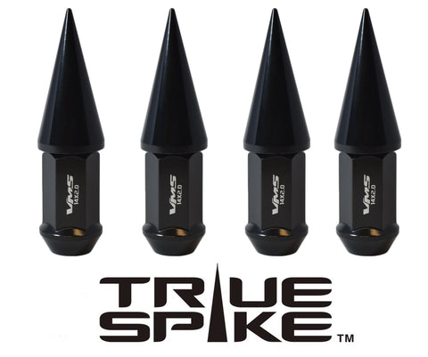 1/2-20 89MM LONG CNC MACHINED FORGED STEEL EXTENDED SPIKE (25MM DIAMETER) LUG NUTS ANODIZED ALUMINUM CAPS 46-17 JEEP CJ, TJ, WRANGLER 79-14 FORD MUSTANG // 25MM CAP DIAMETER 51MM CAP LENGTH PART NUMBER LGC020
