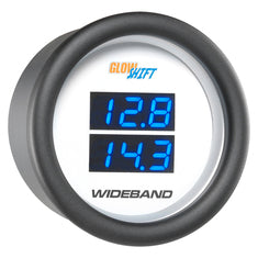 White 7 Series Dual Digital Wideband Air/Fuel Ratio Gauge