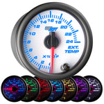White 7 Color 2400° F Exhaust Gas Temperature Gauge
