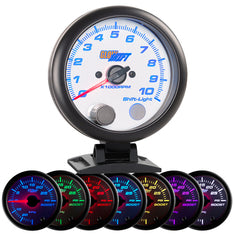 "White 7 Color 3-3/4"" Tachometer & Shift Light"
