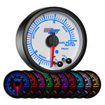 White Elite 10 Color Narrowband Air/Fuel Ratio Gauge