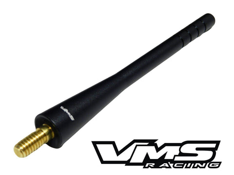"BILLET ALUMINUM SHORT ANTENNA KIT 4.6"" INCHES LONG COLORS: BLACK or GUNMETAL // PART # SA064"