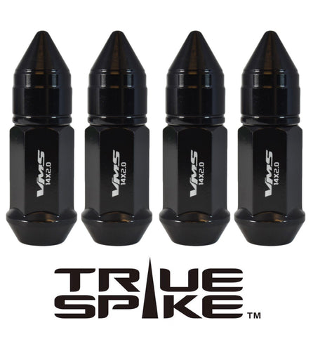 14X1.5 MM 81MM LONG APOLLO SPIKE FORGED STEEL LUG NUTS WITH ANODIZED ALUMINUM CAP 00- UP CHEVROLET SILVERADO TAHOE GMC SIERRA 12-UP DODGE RAM 15-UP F150 // CAP: 20MM DIAMETER 30MM HEIGHT PART # LGC044