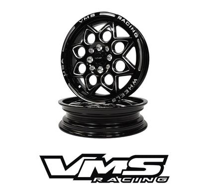 FRONT or REAR ROCKET DRAG RACE 4 LUG WHEEL 15x3.5 4X100/114.3 10 OFFSET GREAT FOR HONDA CIVIC CRX ACURA INTEGRA // PART # VWRT002