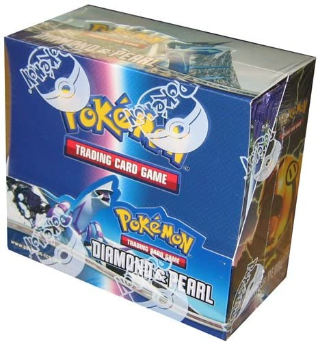 Pokemon Trading Card Game DP Diamond & Pearl Booster Box: Limited Rare