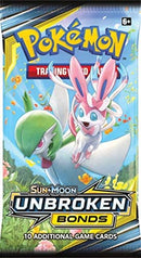 Pokemon TCG: Sun & Moon Unbroken Bonds Booster Box