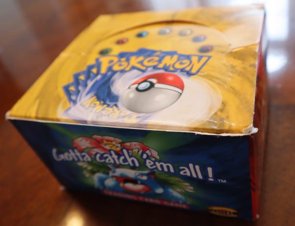 VINTAGE BASE SET UNLIMITED POKEMON (EMPTY)BOX -