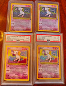 MEW COLLECTION PSA 9-PSA 8- MEW PROMO
