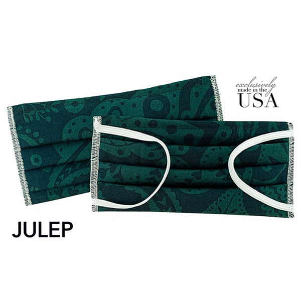 Ships Today! Face Mask Made in USA, 2-Ply Cotton- Julep - Babseys