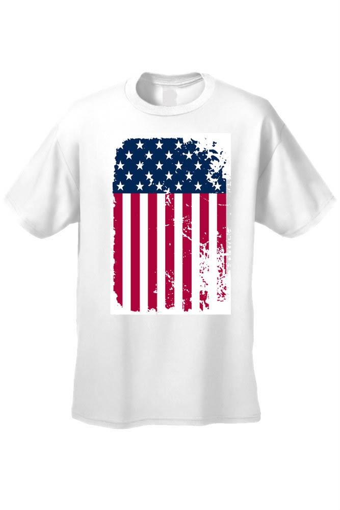 Unisex Freedom Proud to be an American USA Flag Short Sleeve T-shirt - Babseys