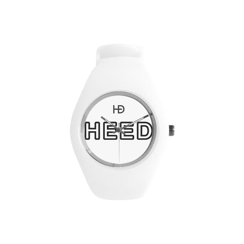 HEED NYC OTL White on White Candy Silicone Watch - HEED NYC