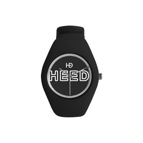 HEED NYC OTL Black on Black Candy Silicone Watch - HEED NYC