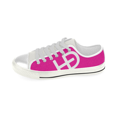 HEED NYC Classic Pink & White Sneaker - HEED NYC