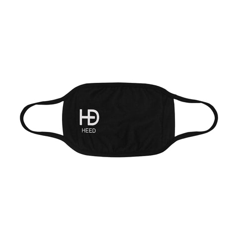 HEED NYC Classic Black Mouth Mask - HEED NYC