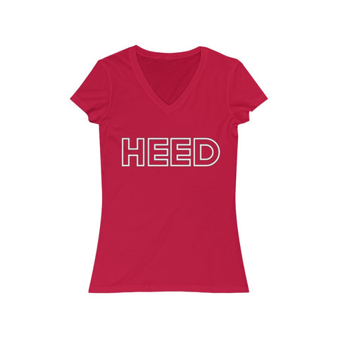 HEED Short Sleeve V-Neck Tee - HEED NYC
