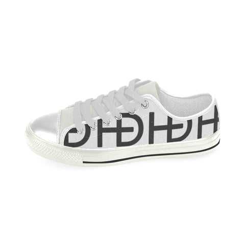 HEED NYC Classic White & Black Multiple Logo Sneaker - HEED NYC