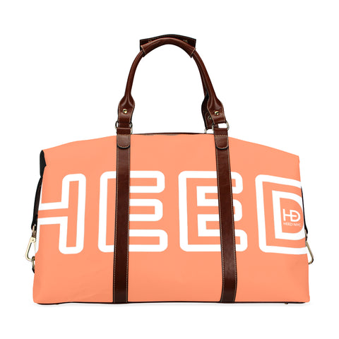 HEED NYC Coral Traveler Duffle Bag Classic Travel Bag (Model 1643) Remake - HEED NYC