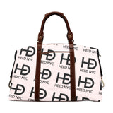 HEED NYC Classic Powder Pink & Black All Over Logo Traveler Bag - HEED NYC