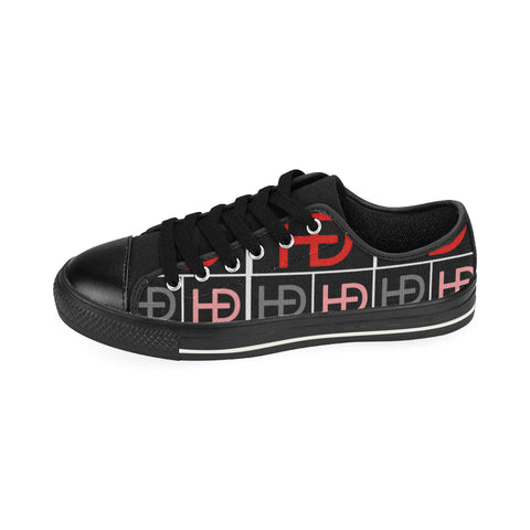 HEED NYC Signature Red Large Logo Sneaker - HEED NYC