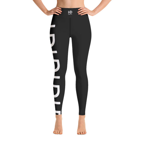 HEED NYC Classic Black & White Leggings - HEED NYC