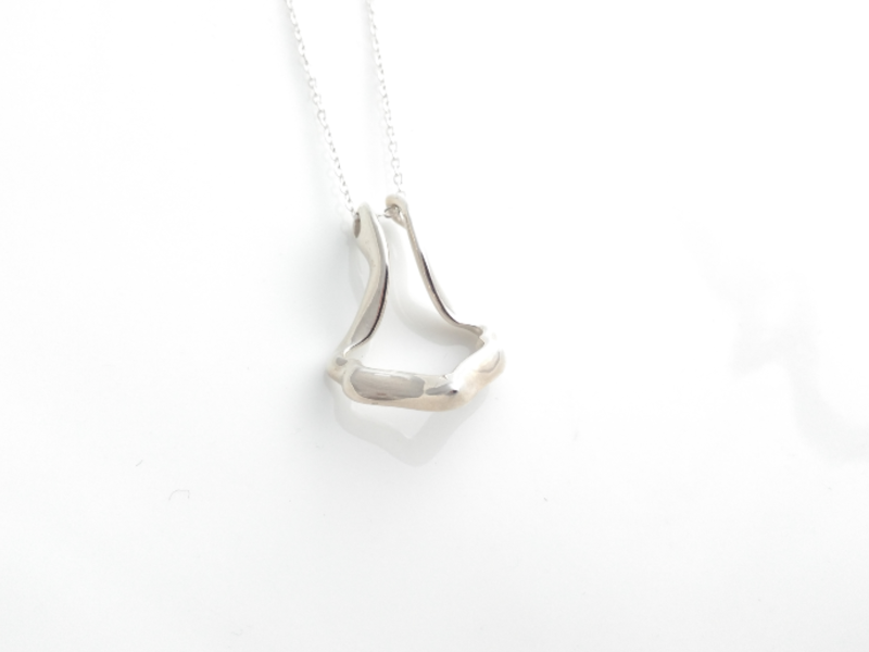 ring holder necklace pedant silver