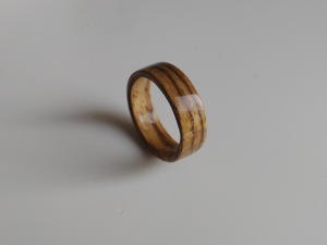 zebrano bentwood woodenring