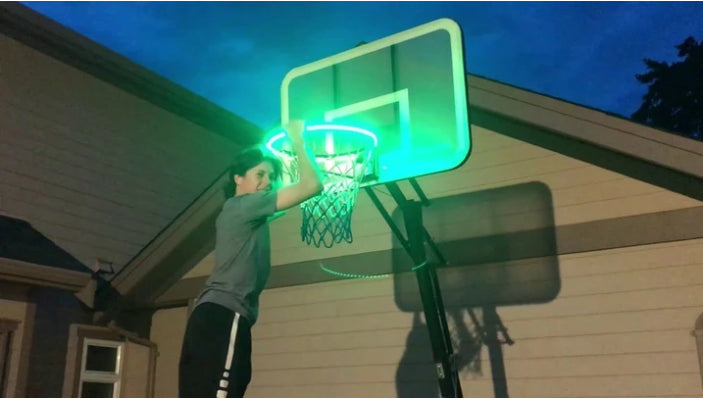 Bright Hoops - Light Up Your Hoop With a Swish