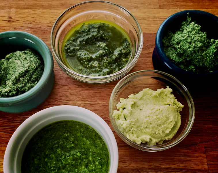 Ginger, Lime and Cilantro Sauce