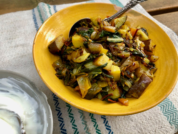 Indian-Spiced Sauteed Vegetables