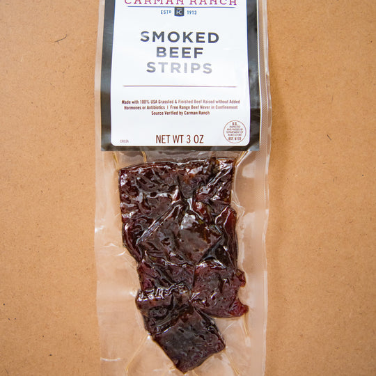 SMOKED BEEF STRIPS