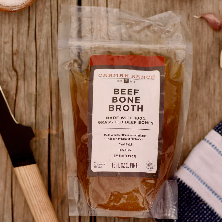 Beef Bone Broth (8 pouches)
