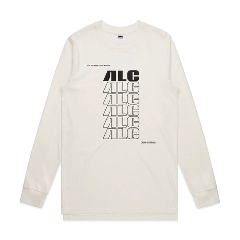 "ALC Records ""Made In California"" (Longsleeve Natural Shirt)"